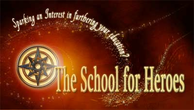 School for Heroes - Sparking Your Interest in Furthering your Education