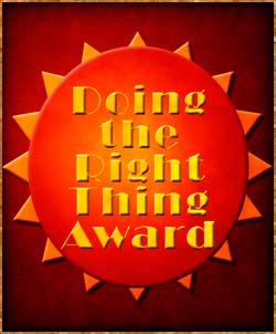 Doing the Right Thing Award