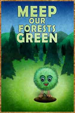 Meep our Forests Green