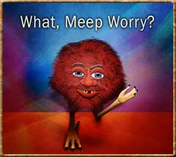 What, Meep Worry?
